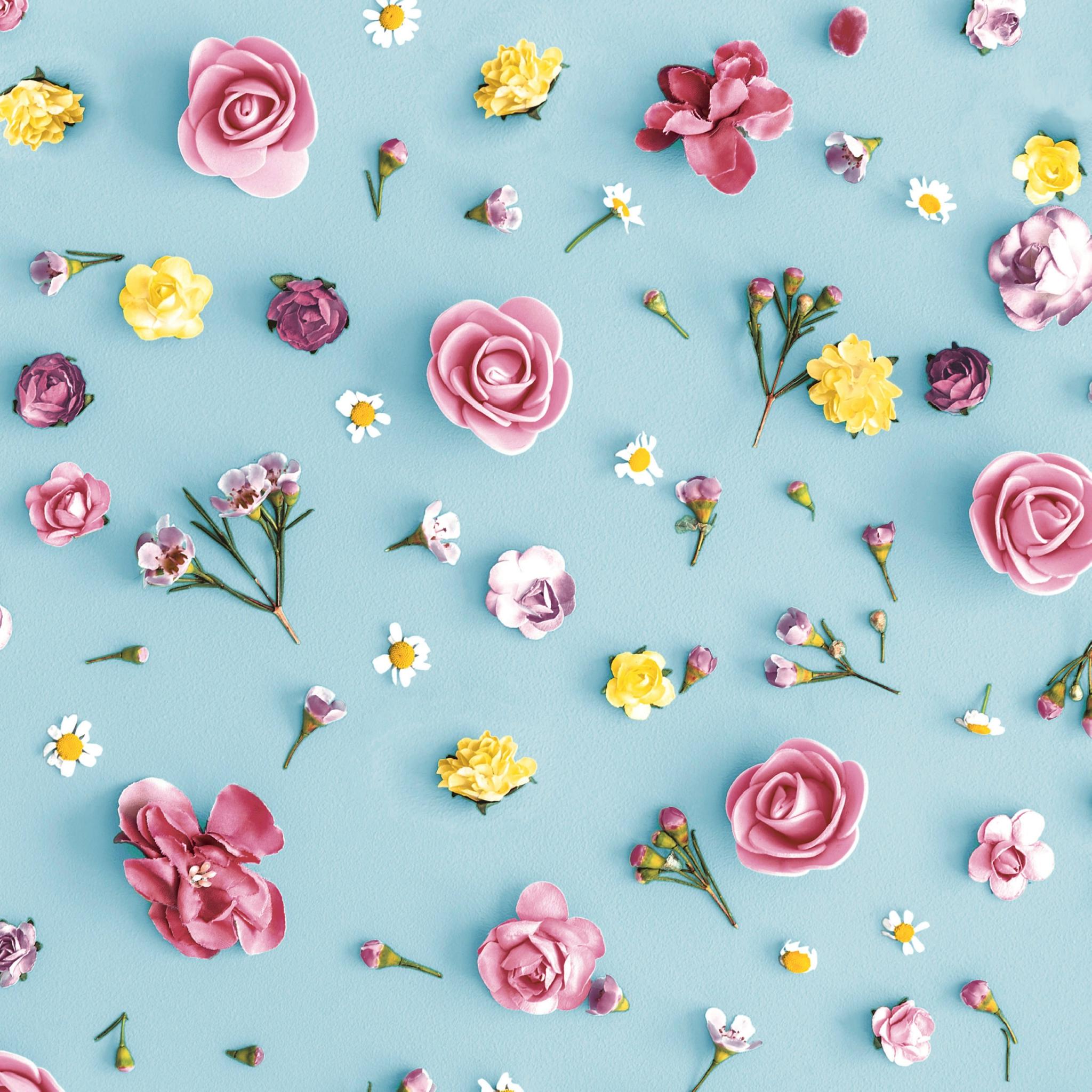 Serviettes 33x33 cm - Spring Melody