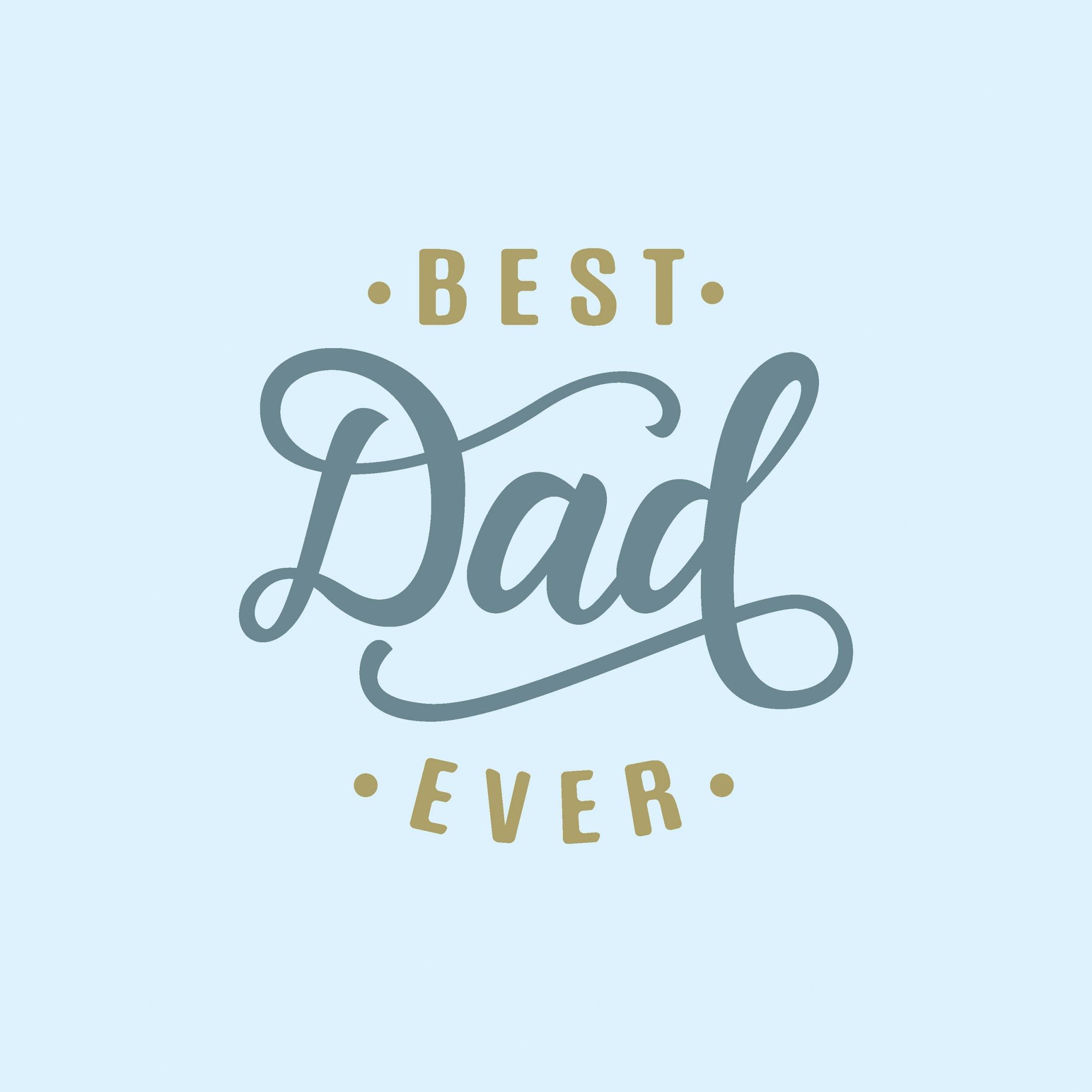 Servilletas 33x33 cm - Best dad