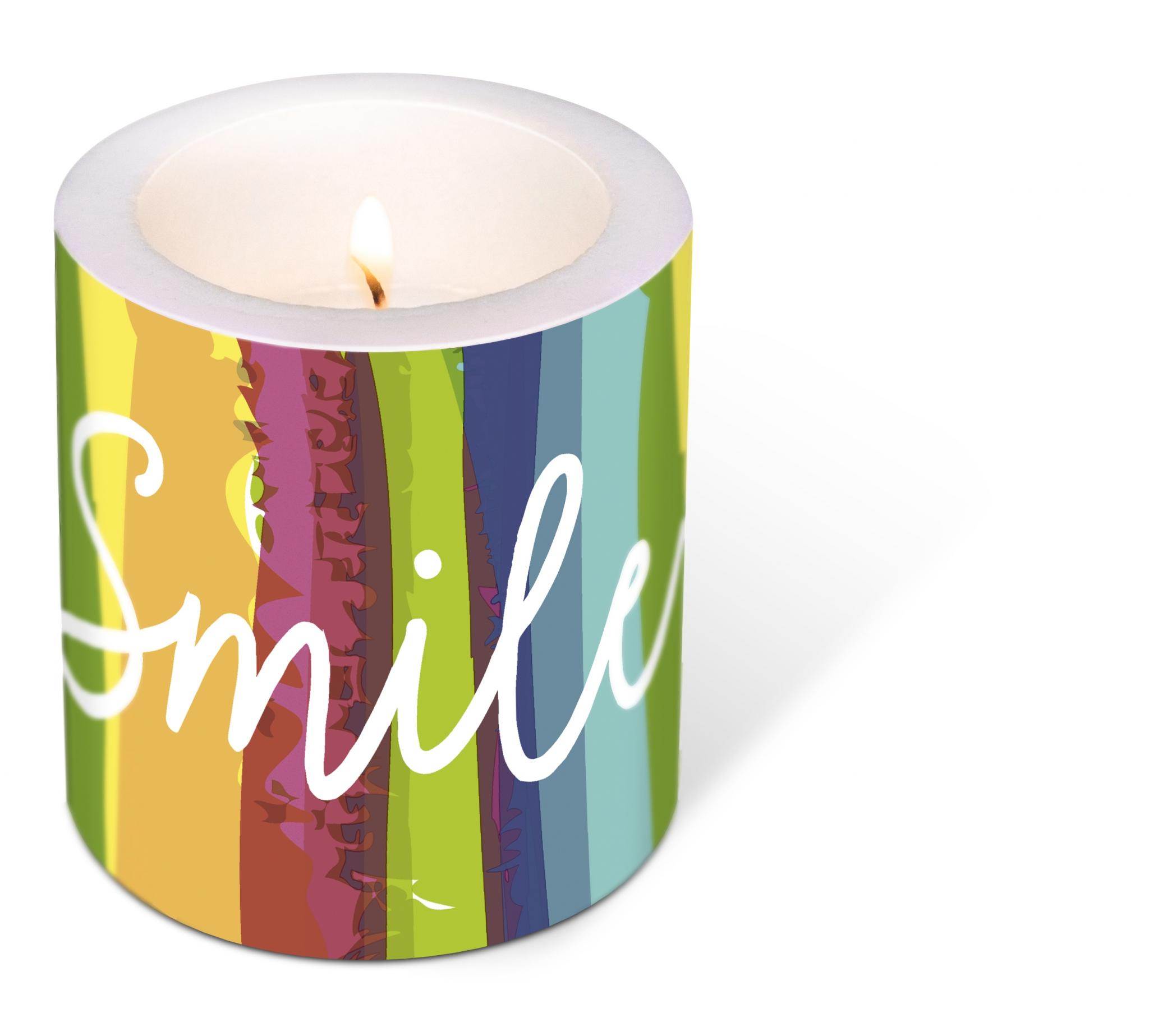 vela decorativa - Smile