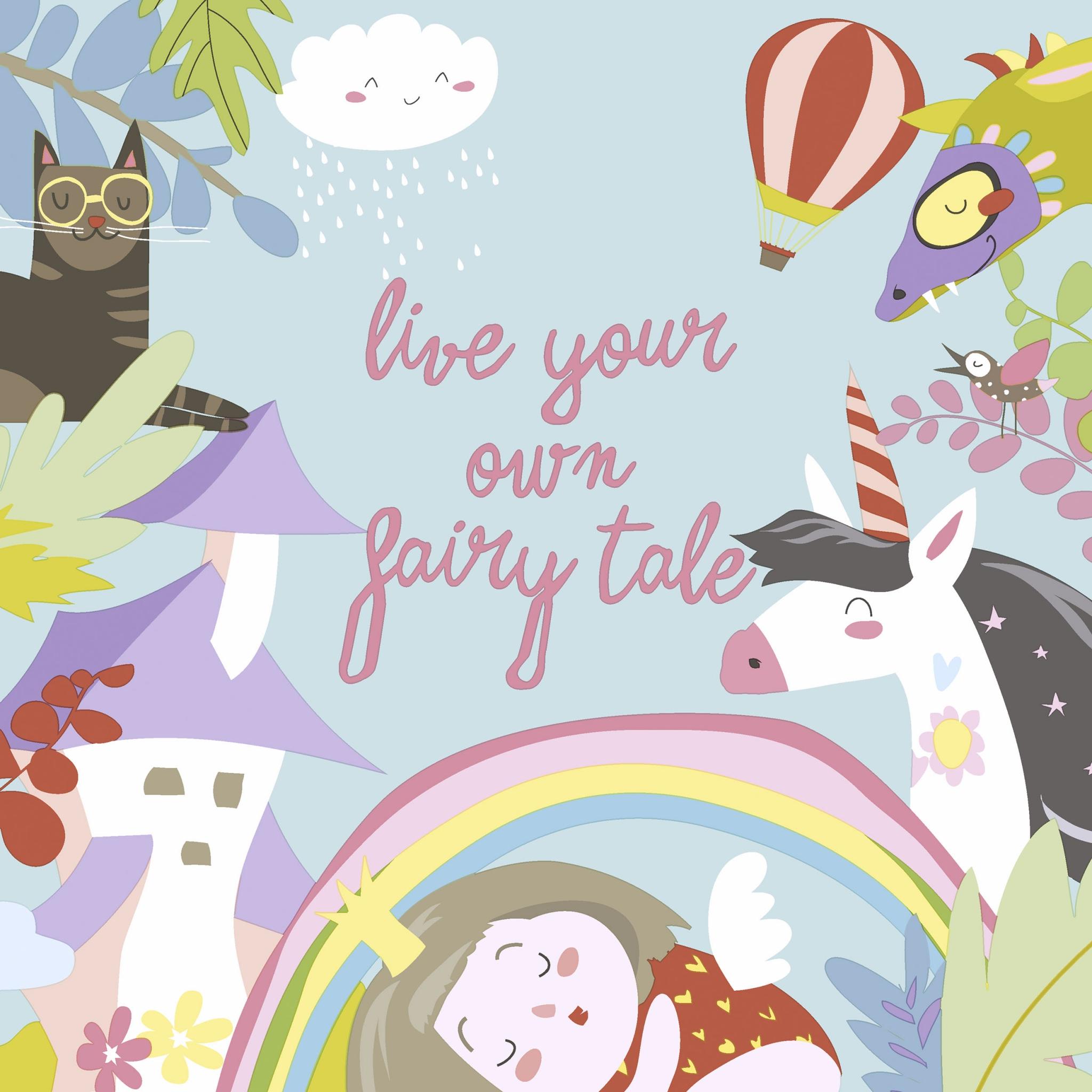 Tovaglioli 33x33 cm - Fairytale