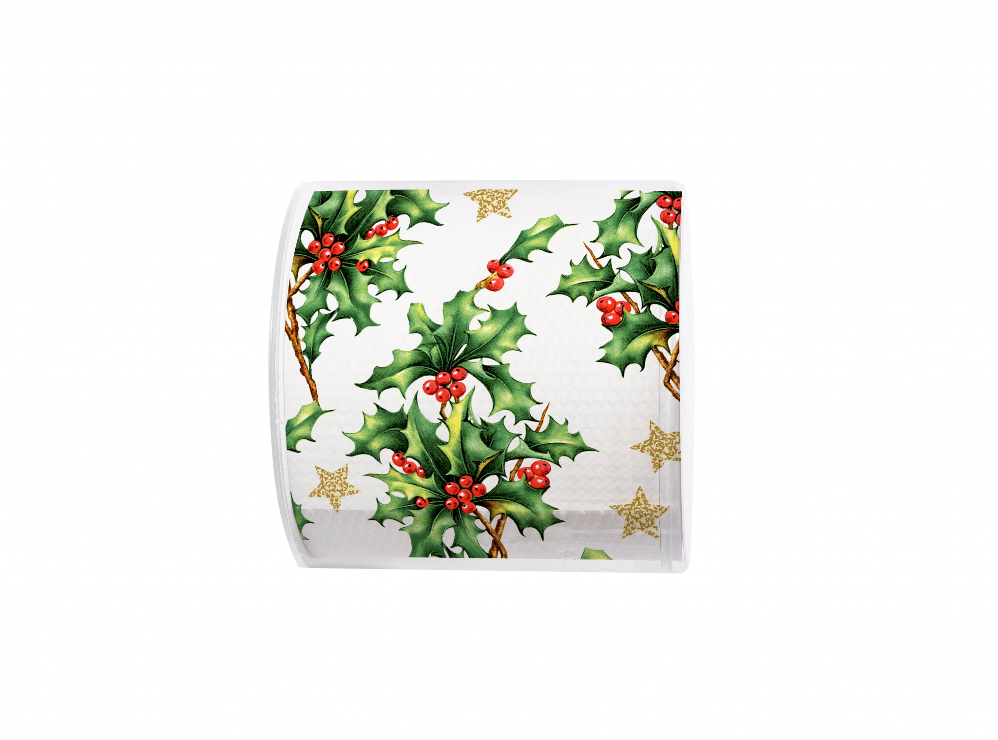 printed toilet paper - Topi Holly all over