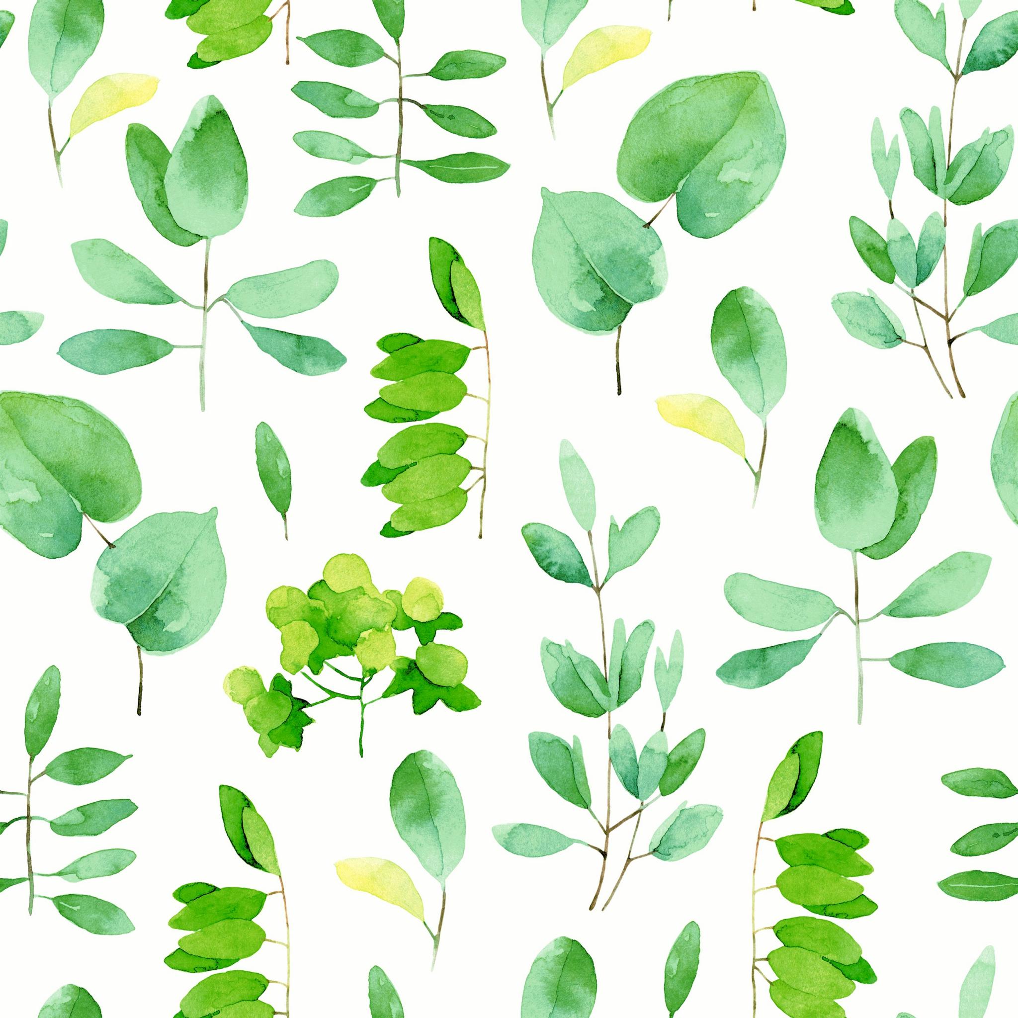 Napkins 33x33 cm - Fresh leaves