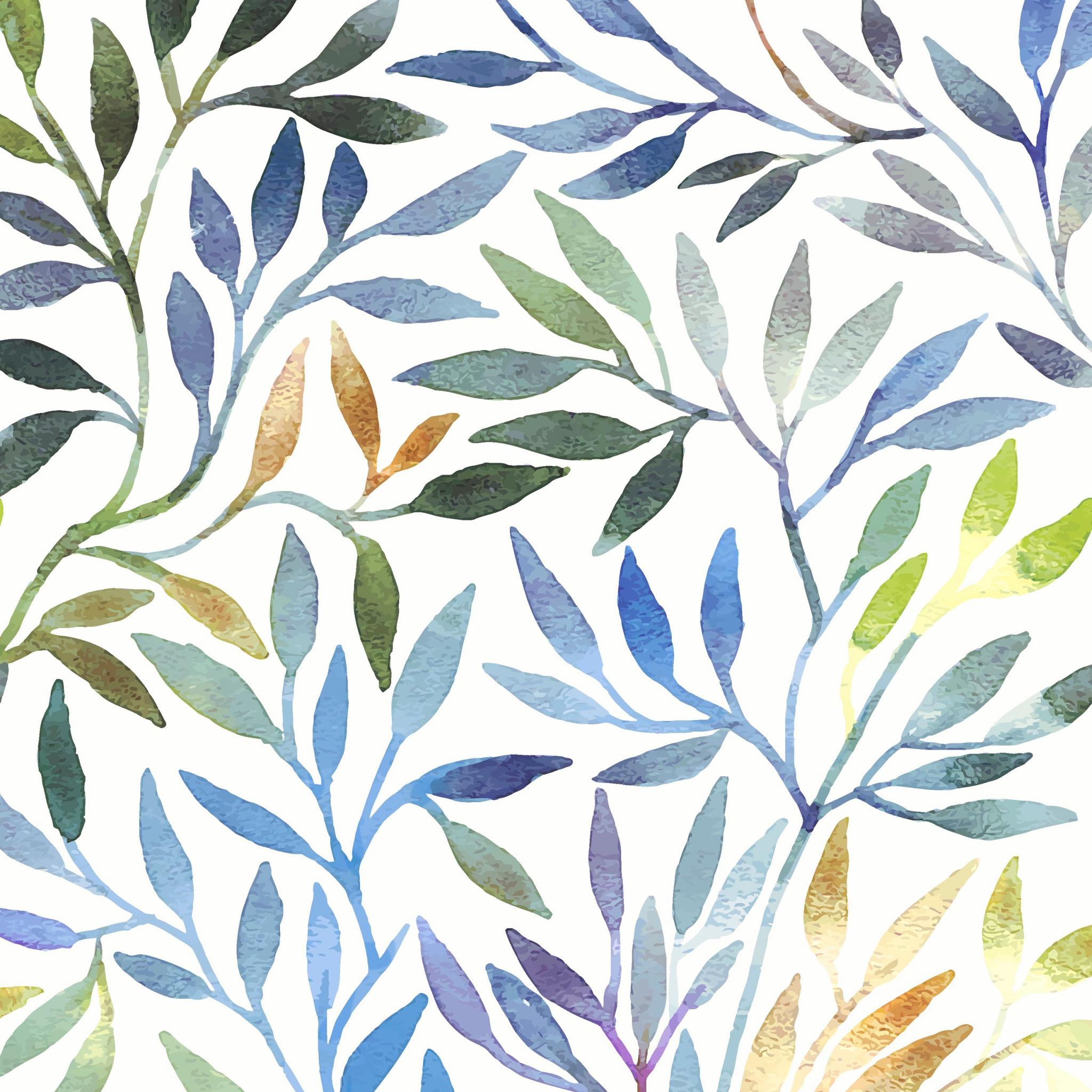 Napkins 33x33 cm - Willow leaves