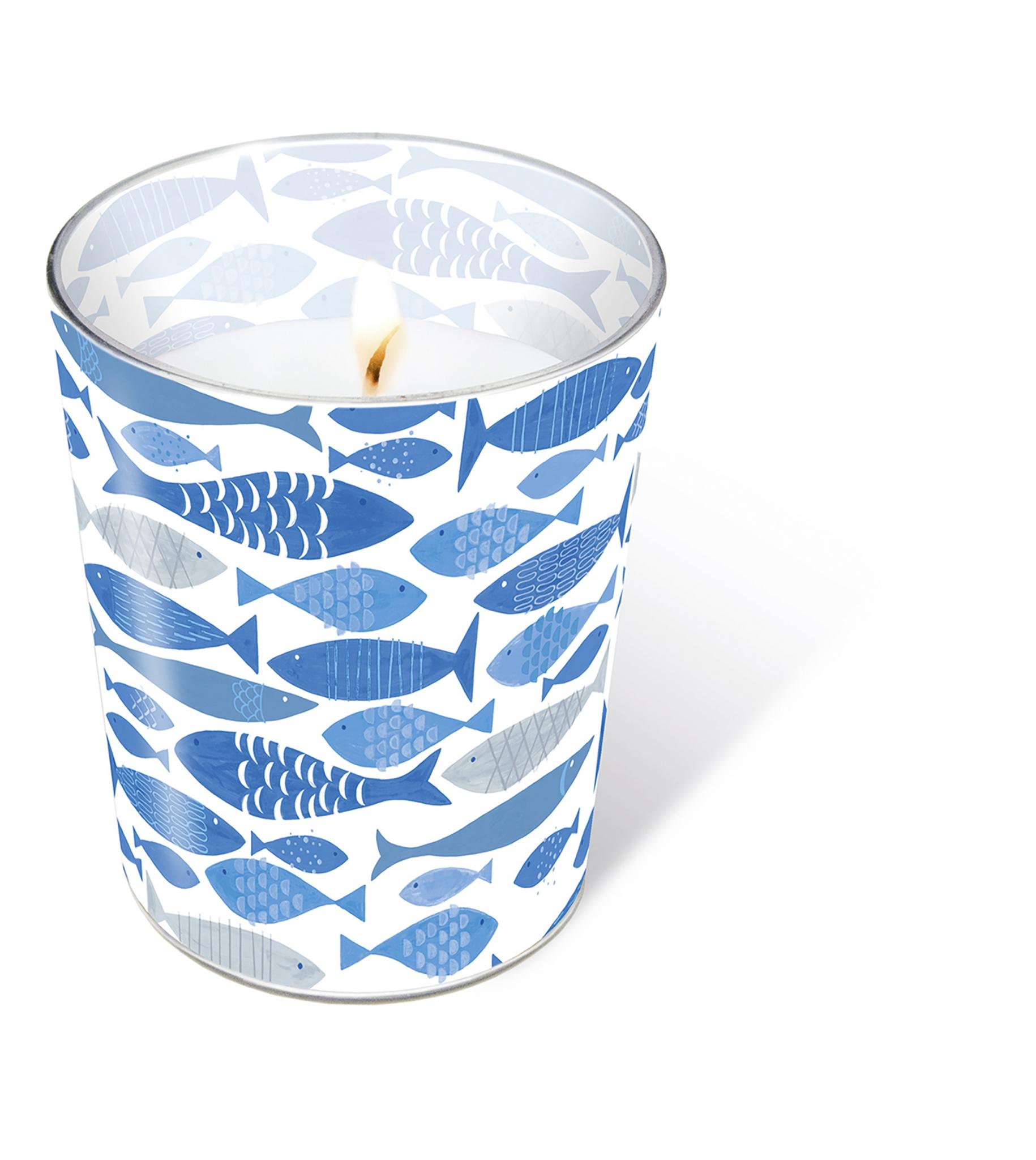 świeca szklana - Glaskerze Shoal of fish