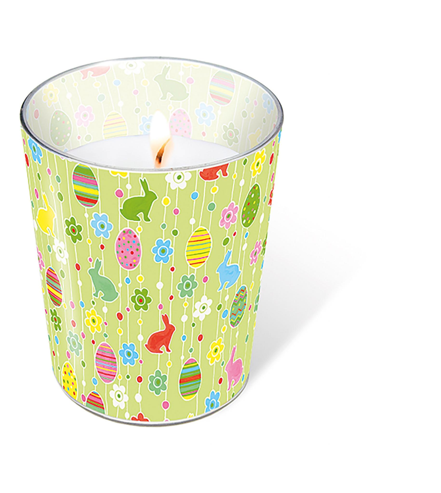 vela de vidrio - Easter pleasure