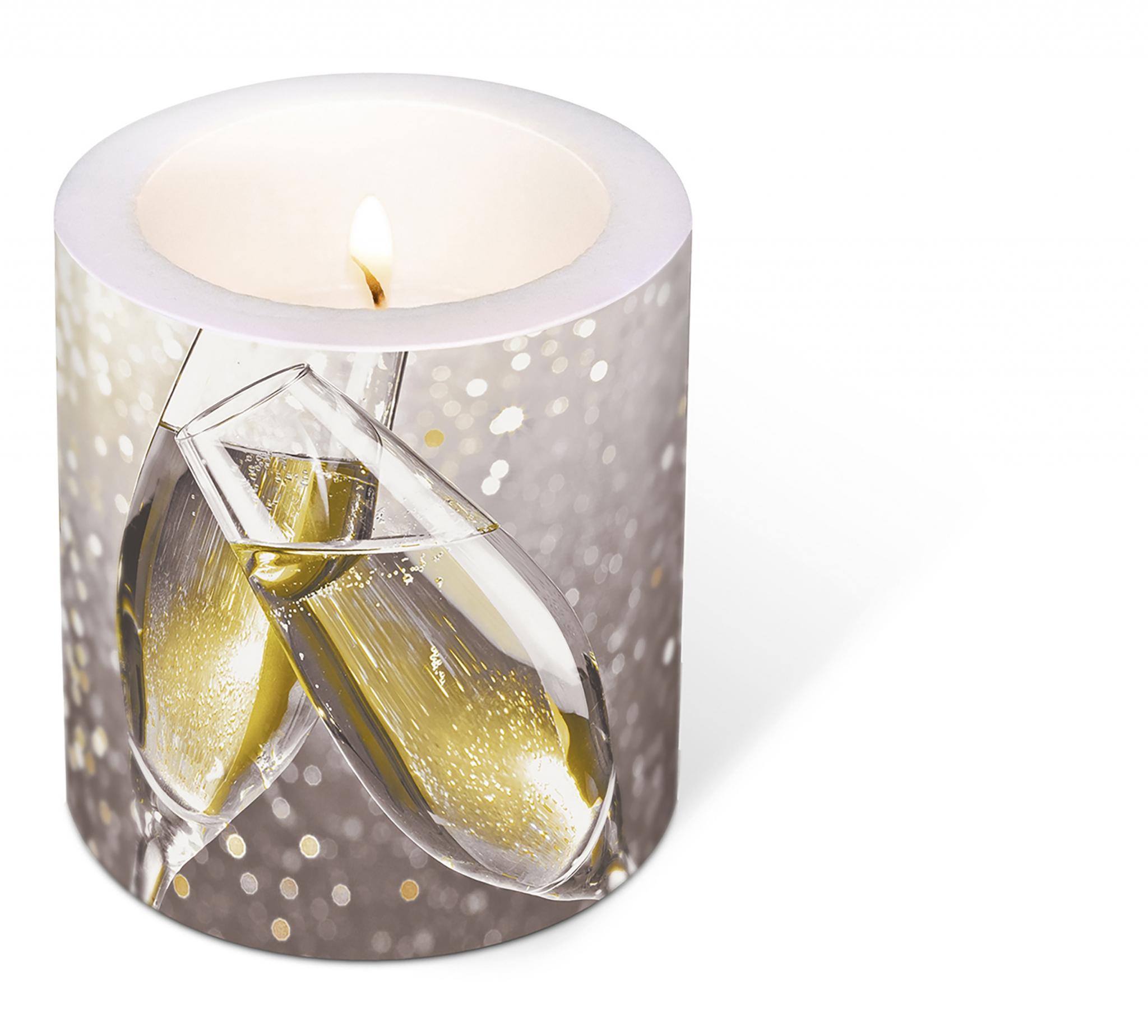 vela decorativa - Cheers