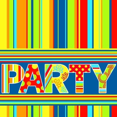 100 serwetek 33x33 cm - New Party