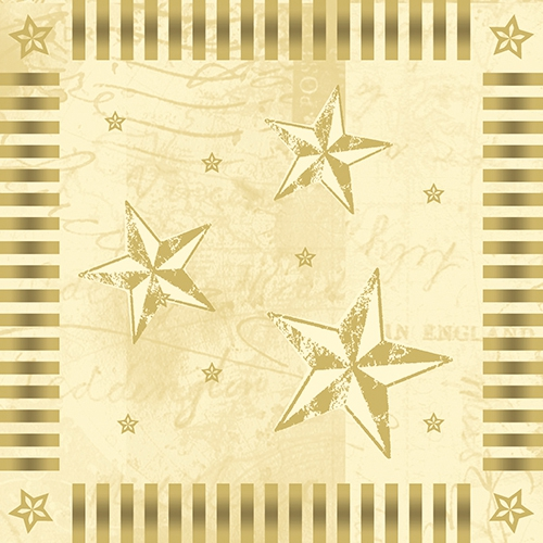 100 serwetek 33x33 cm - Star Shine
