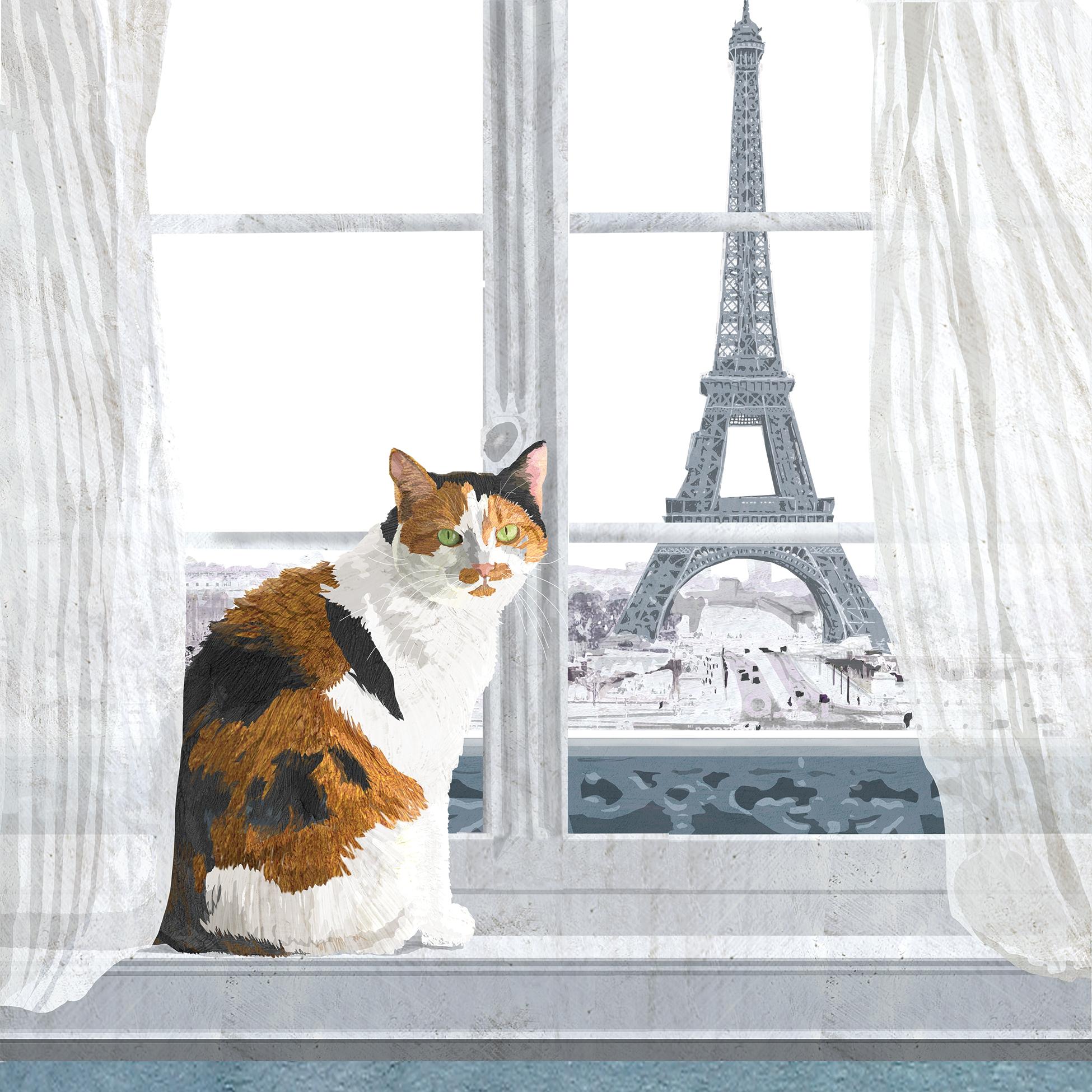 Napkins 25x25 cm - Madeleine à Paris