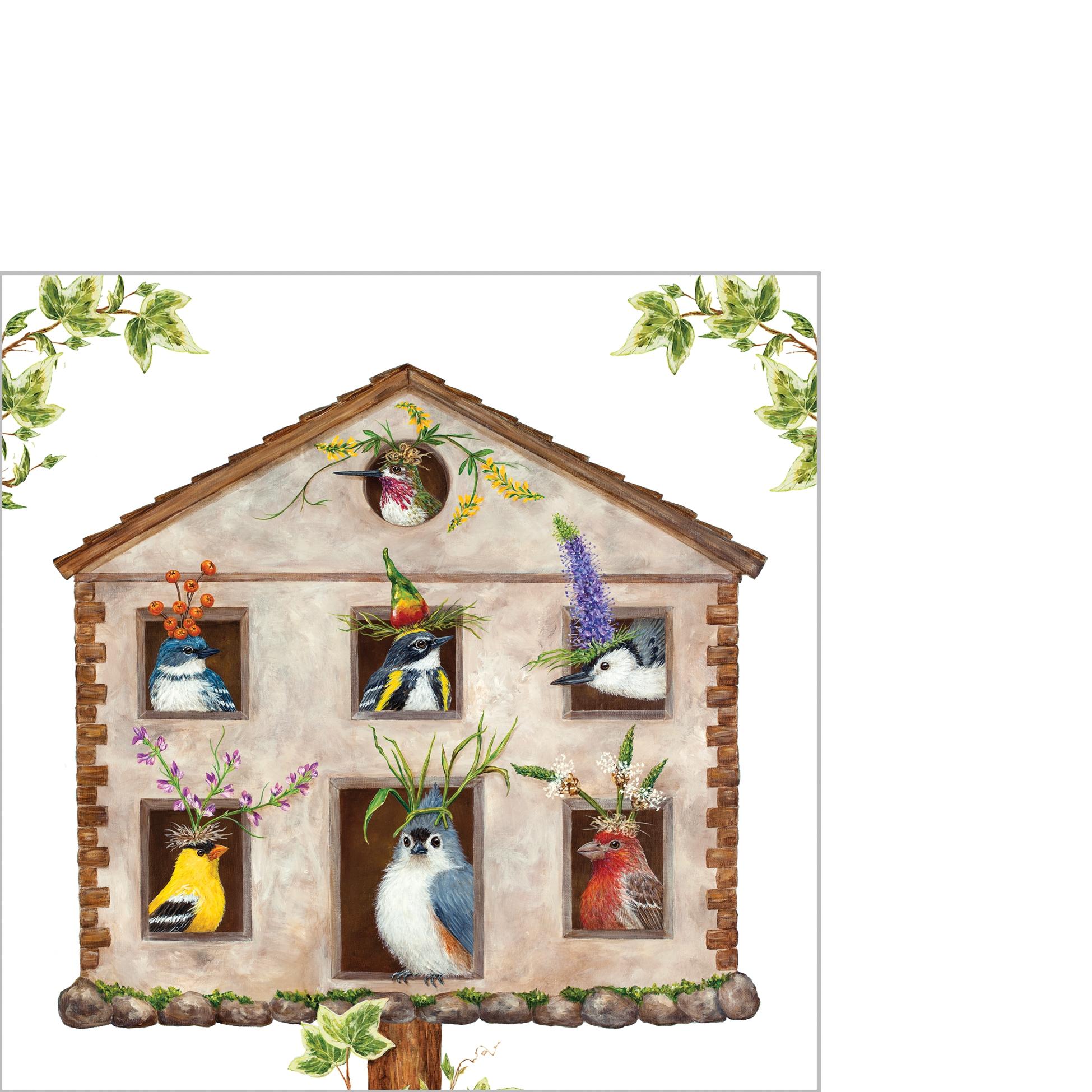 Napkins 25x25 cm - House Party Napkin 25x25