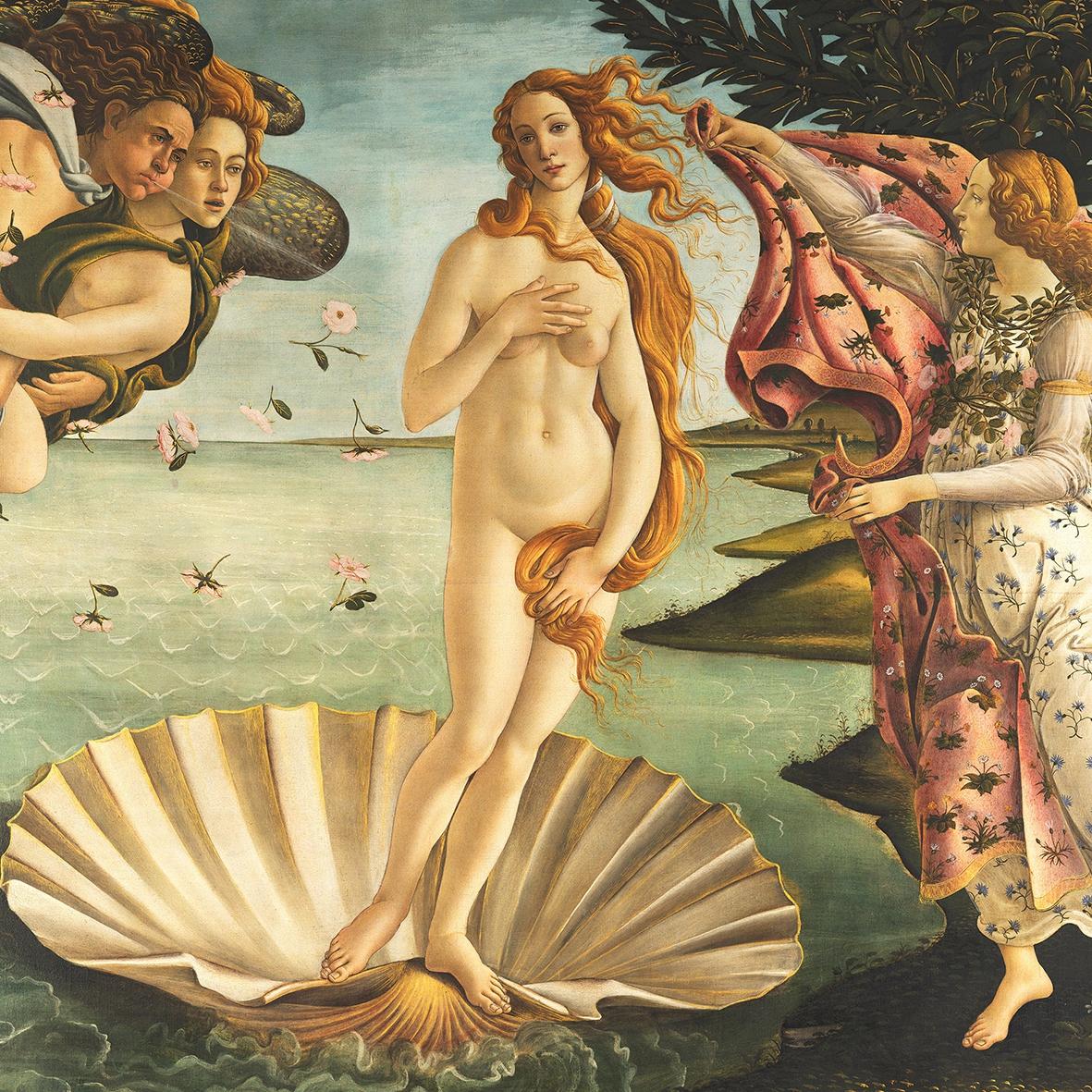 Servilletas 33x33 cm - Birth of Venus