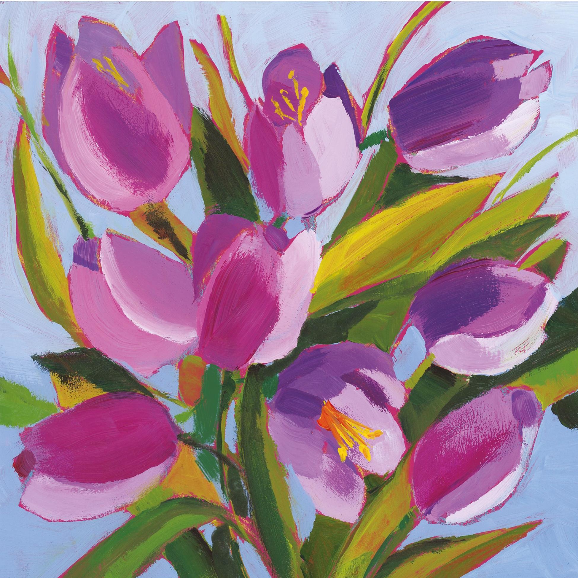 Servilletas 33x33 cm - Tulips Musée
