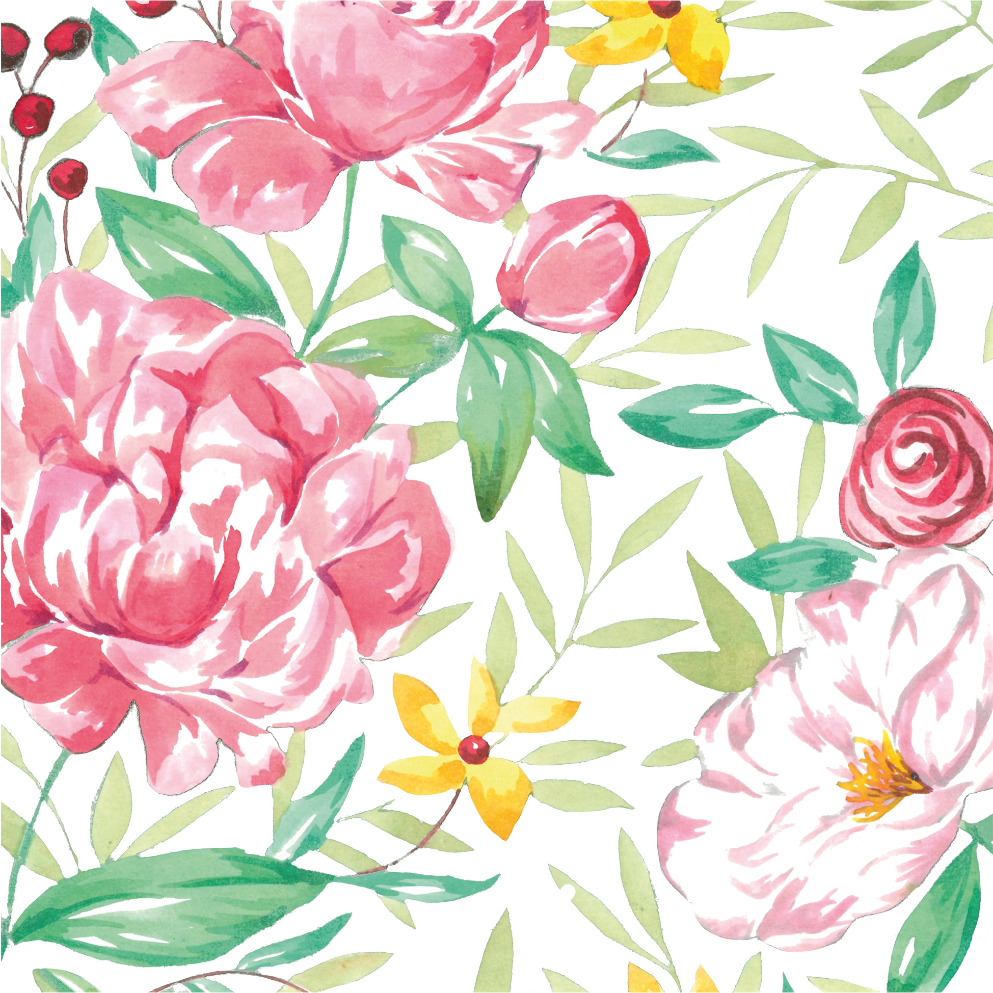 餐巾33x33厘米 - Madame Rose Napkin 33x33