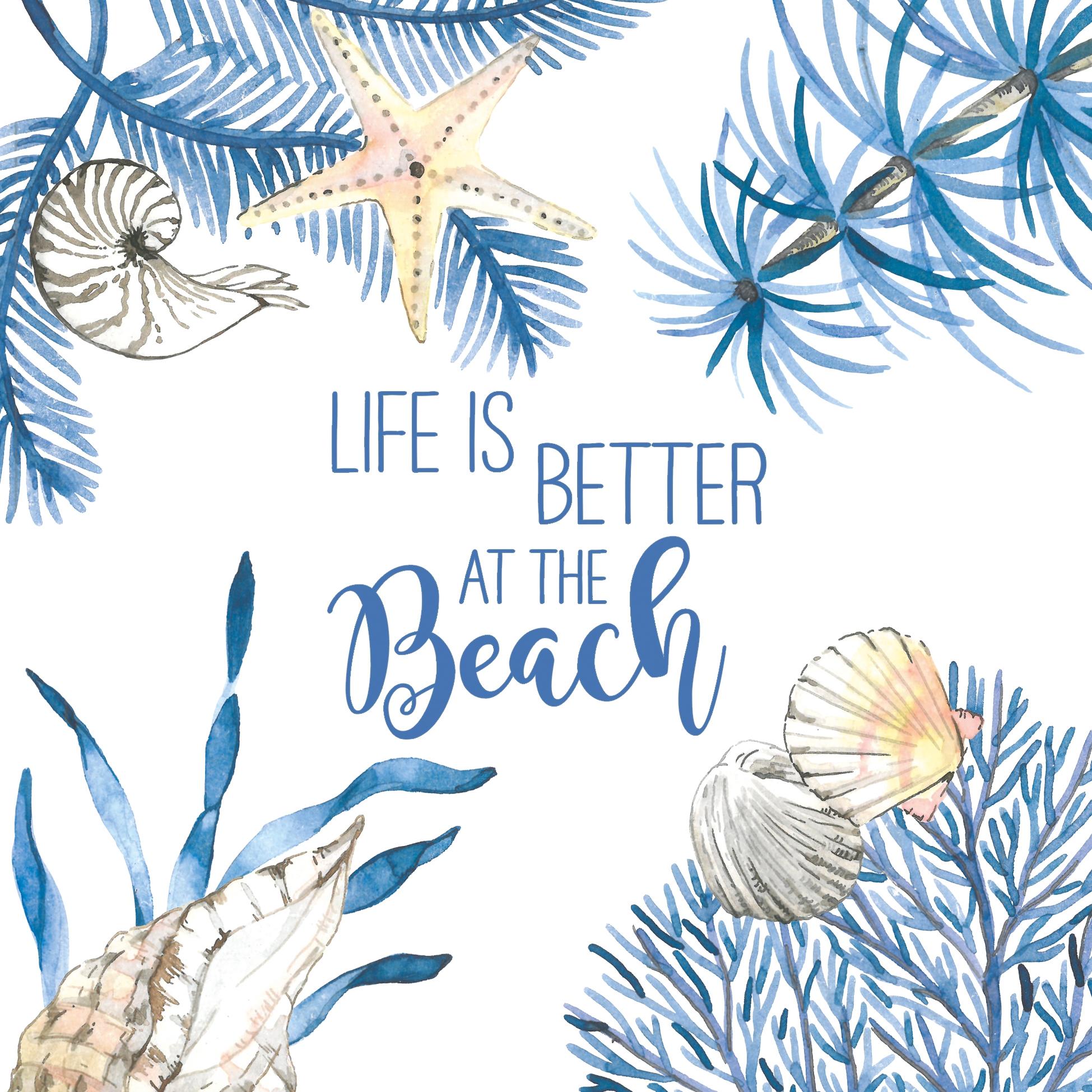 餐巾33x33厘米 - Ocean Life is better