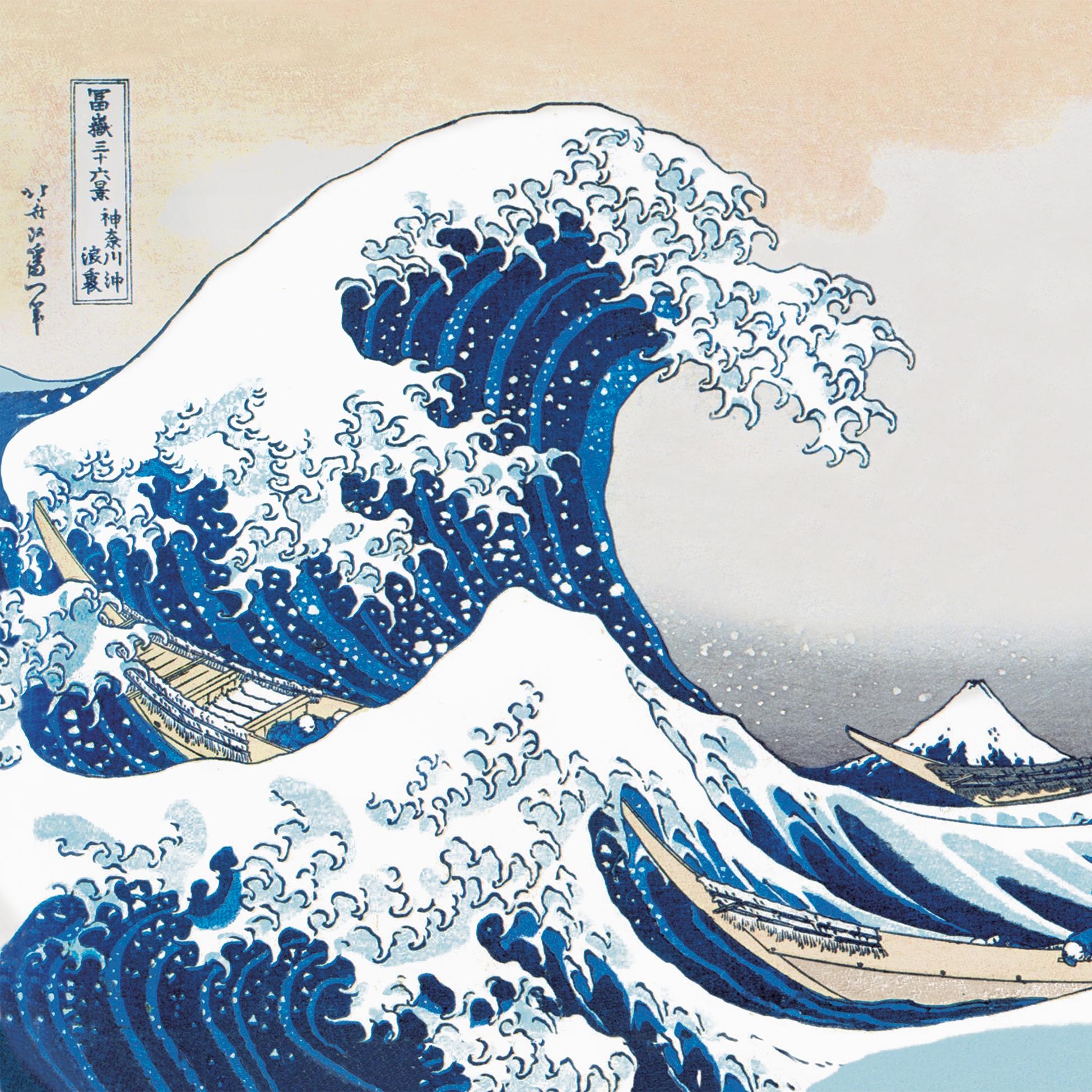 Servilletas 33x33 cm - The Great Wave Napkin 33x33
