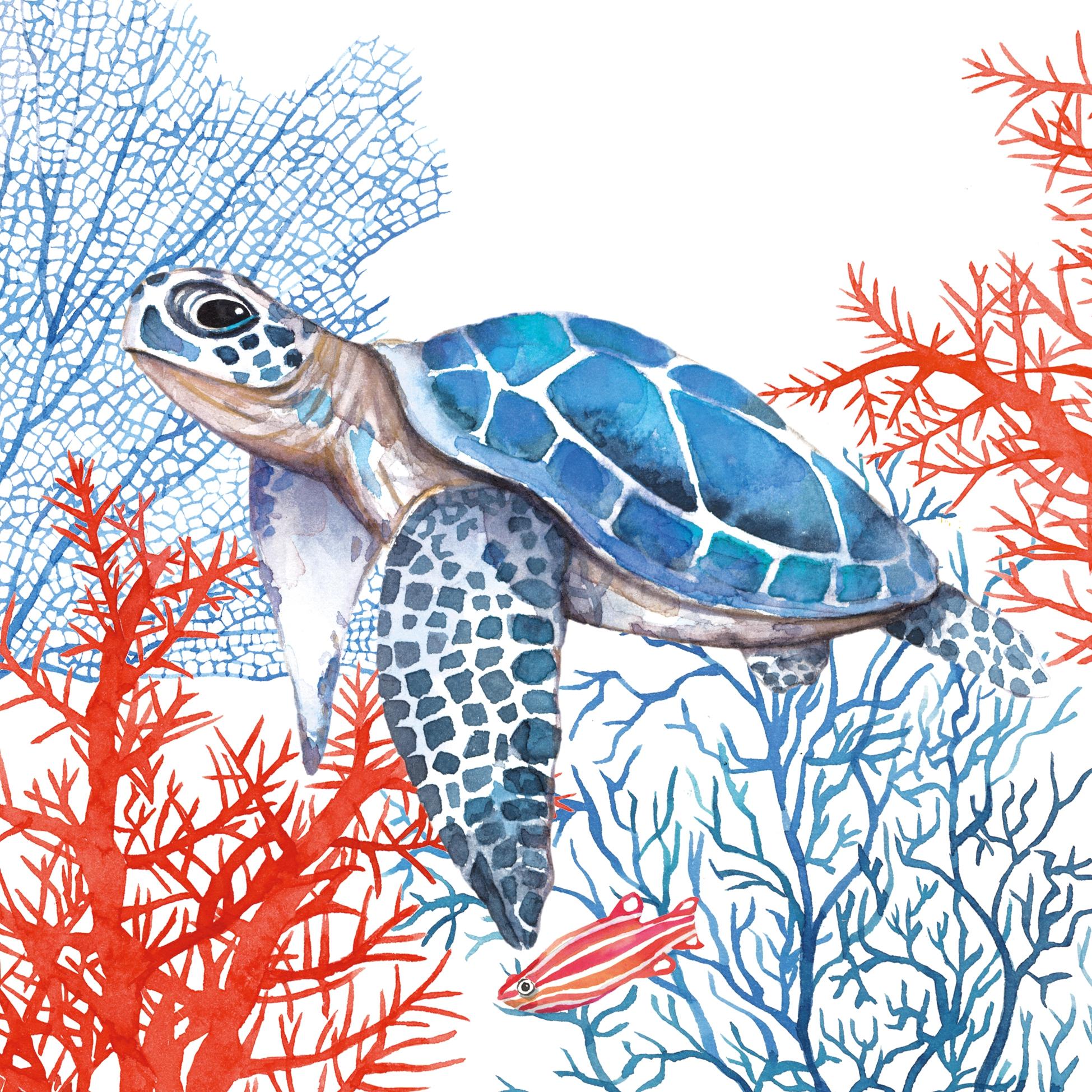 Serwetki 33x33 cm - The Turtle Napkin 33x33