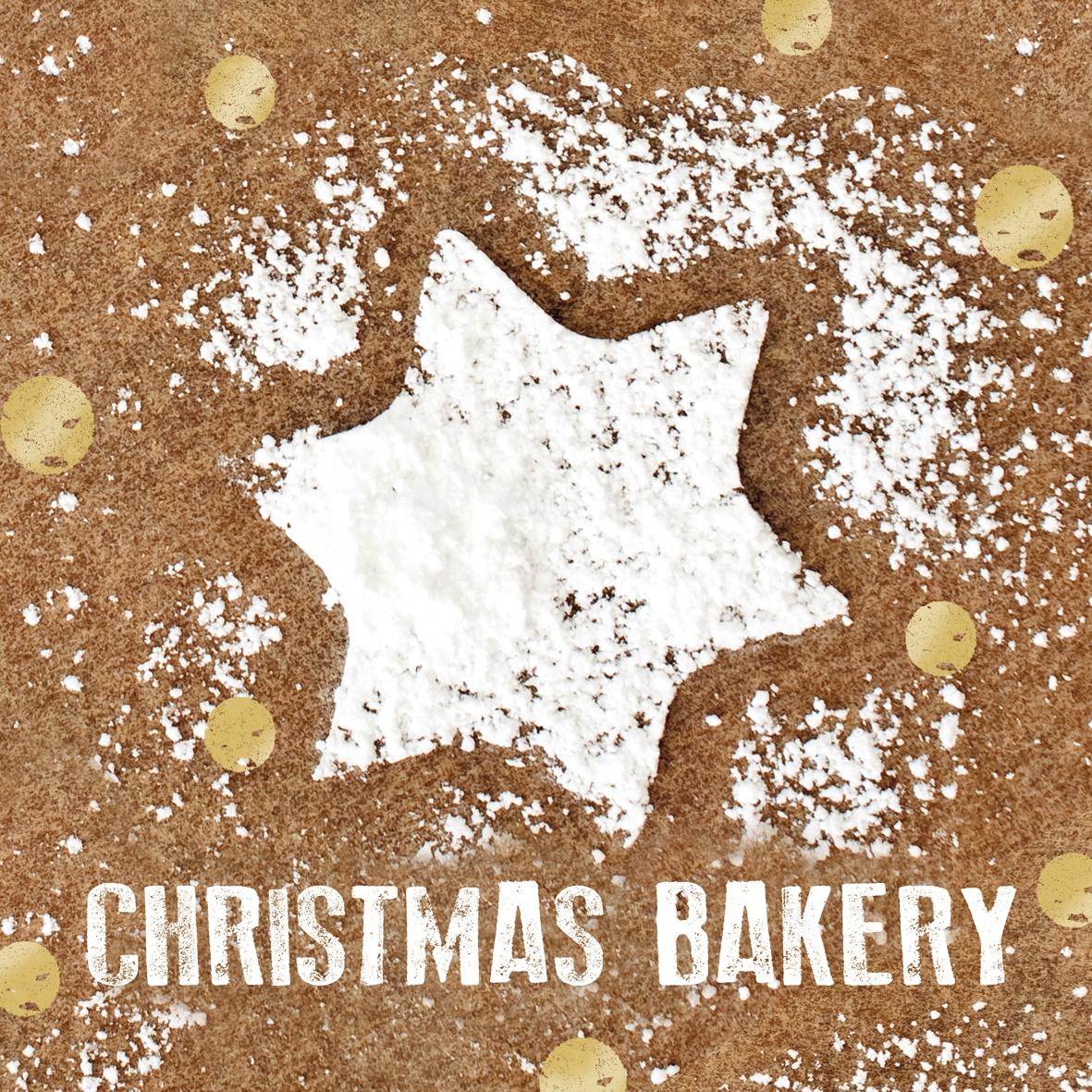 Servilletas 33x33 cm - Sweet Christmas Bakery