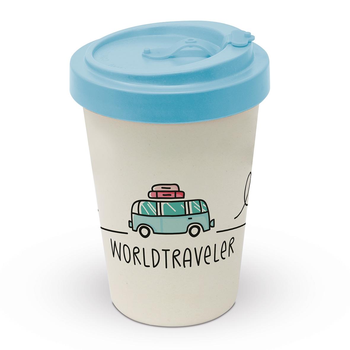 Bamboo mug To-Go - Worldtraveler