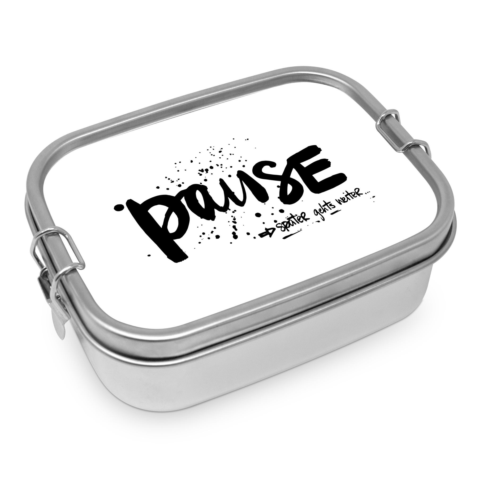 Stainless steel lunch box - Pause