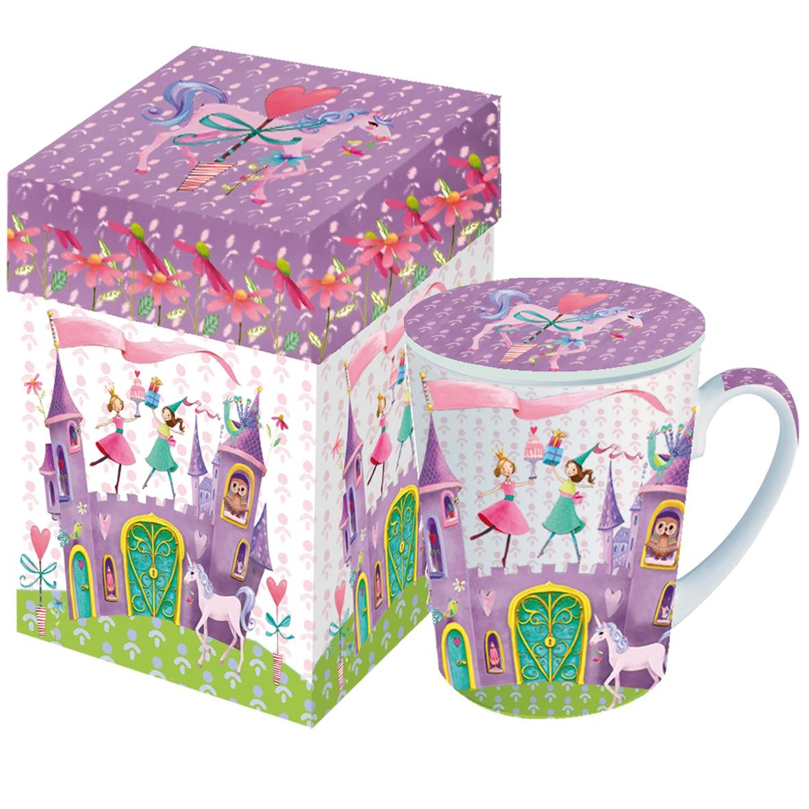 Taza con tapa - Princess Castle