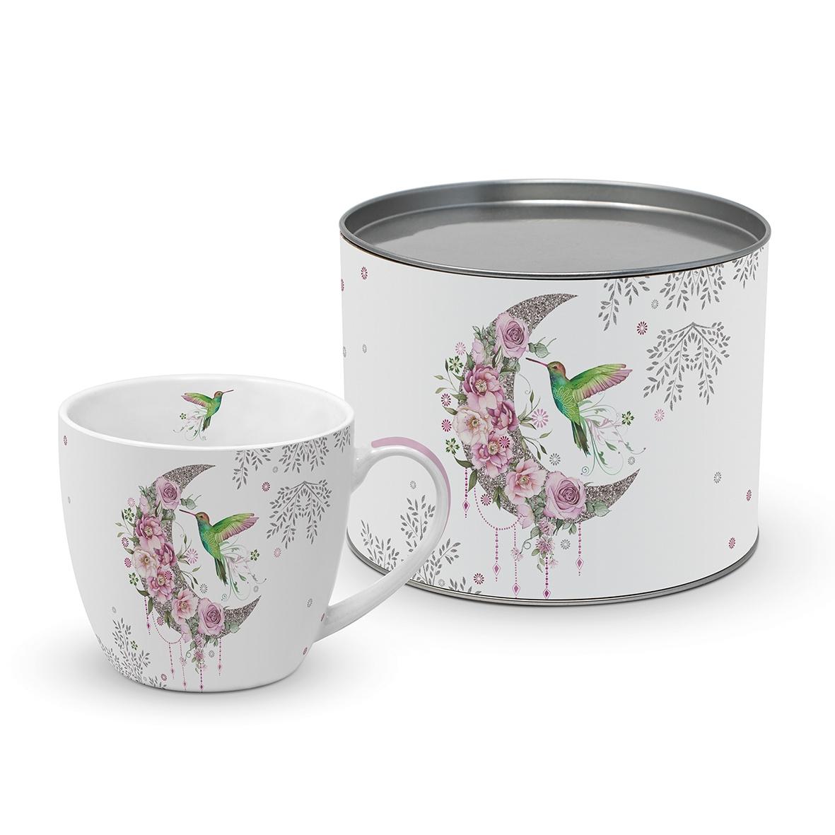 Taza de porcelana - Hummingbird Moon