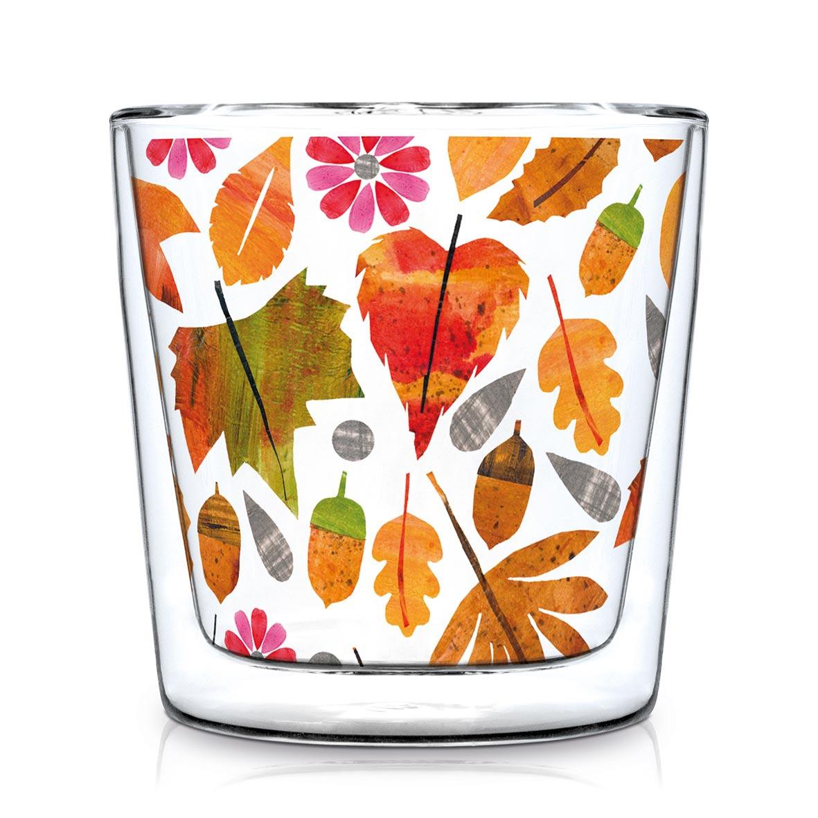 Vidrio de doble pared - Autumn Leaves Trendglas DW
