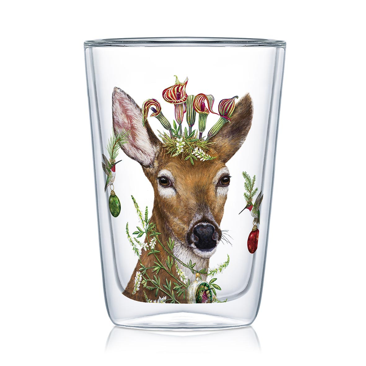 Double wall glass - Christmas Princess Latte MacchiatoDW