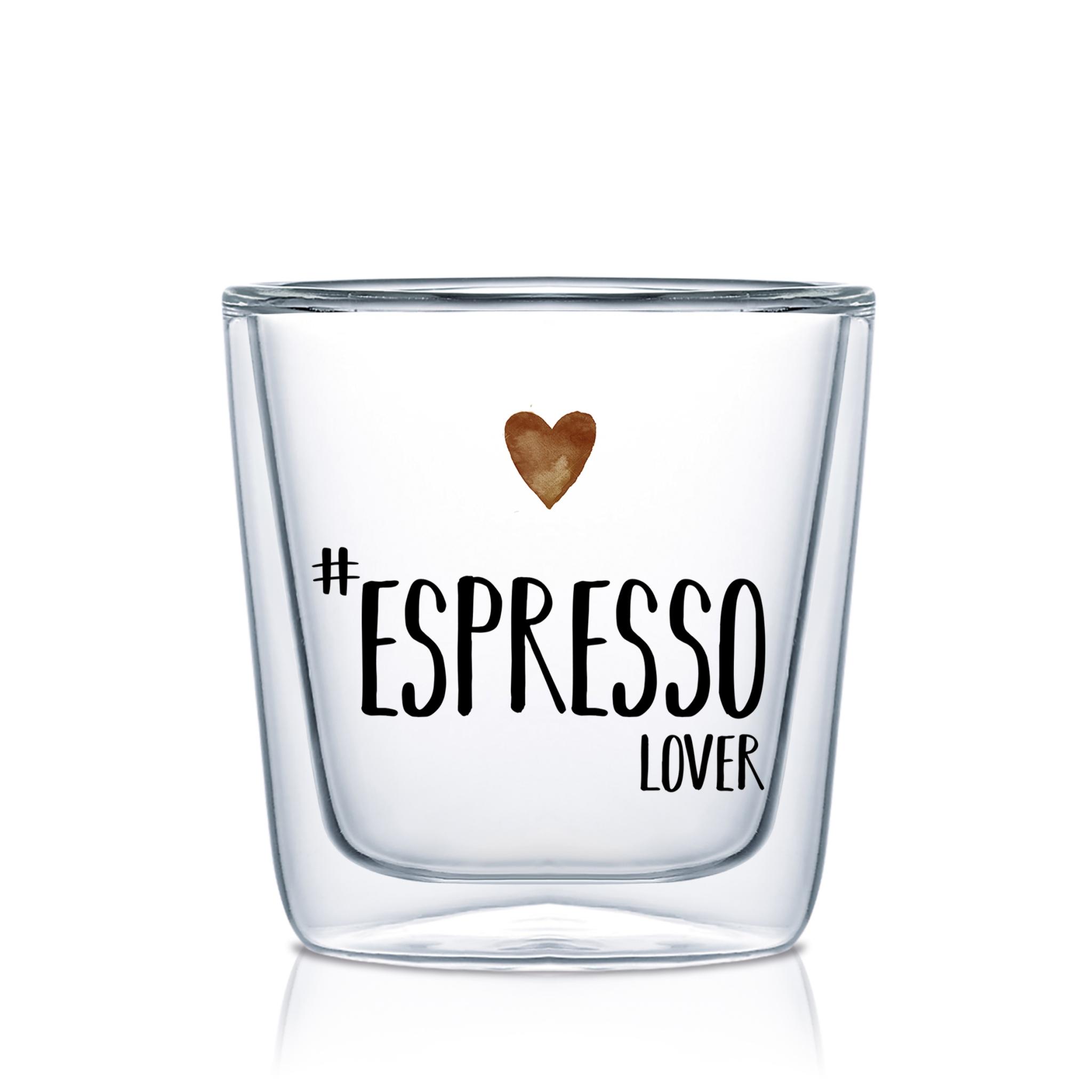 Vidrio de doble pared - Espresso Lover DW