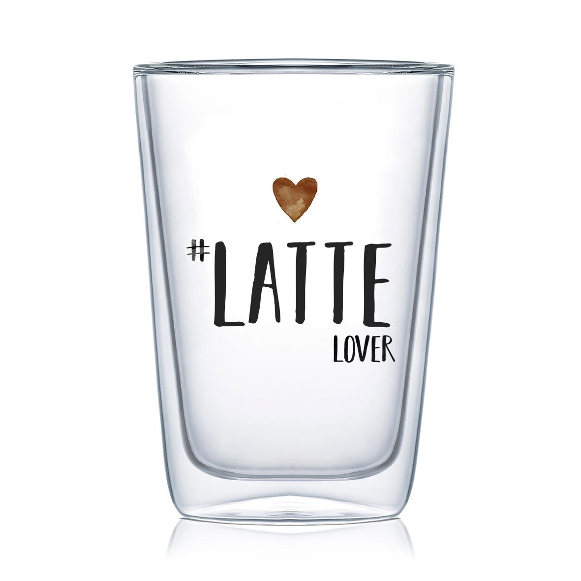 Vidrio de doble pared - Latte Lover DW