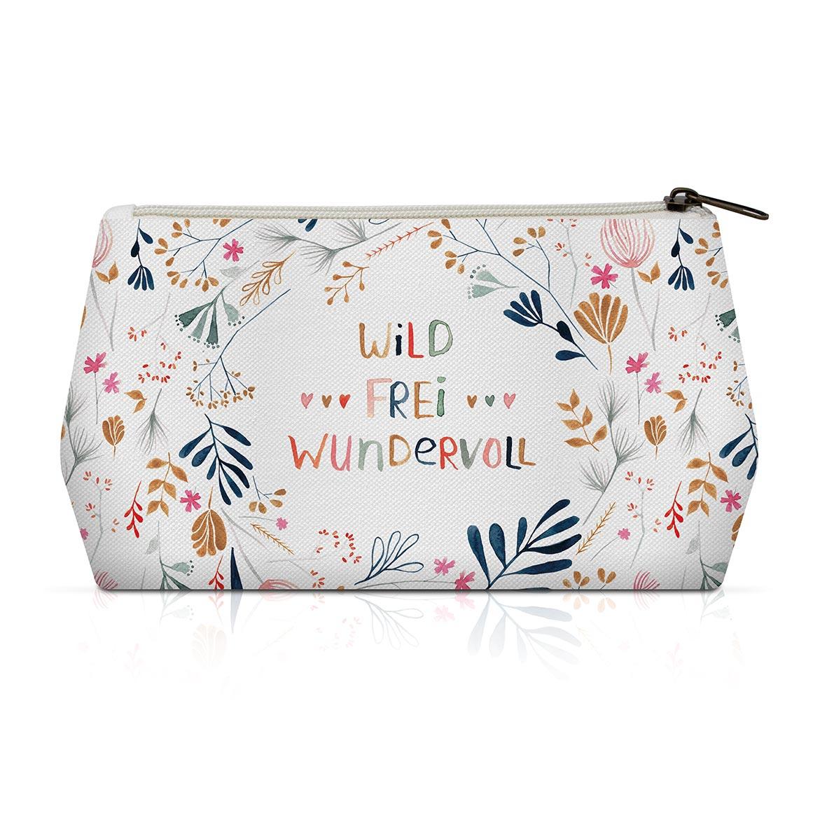 Cosmetic Bag - Wild, Frei, Wundervoll Cosmetic Bag