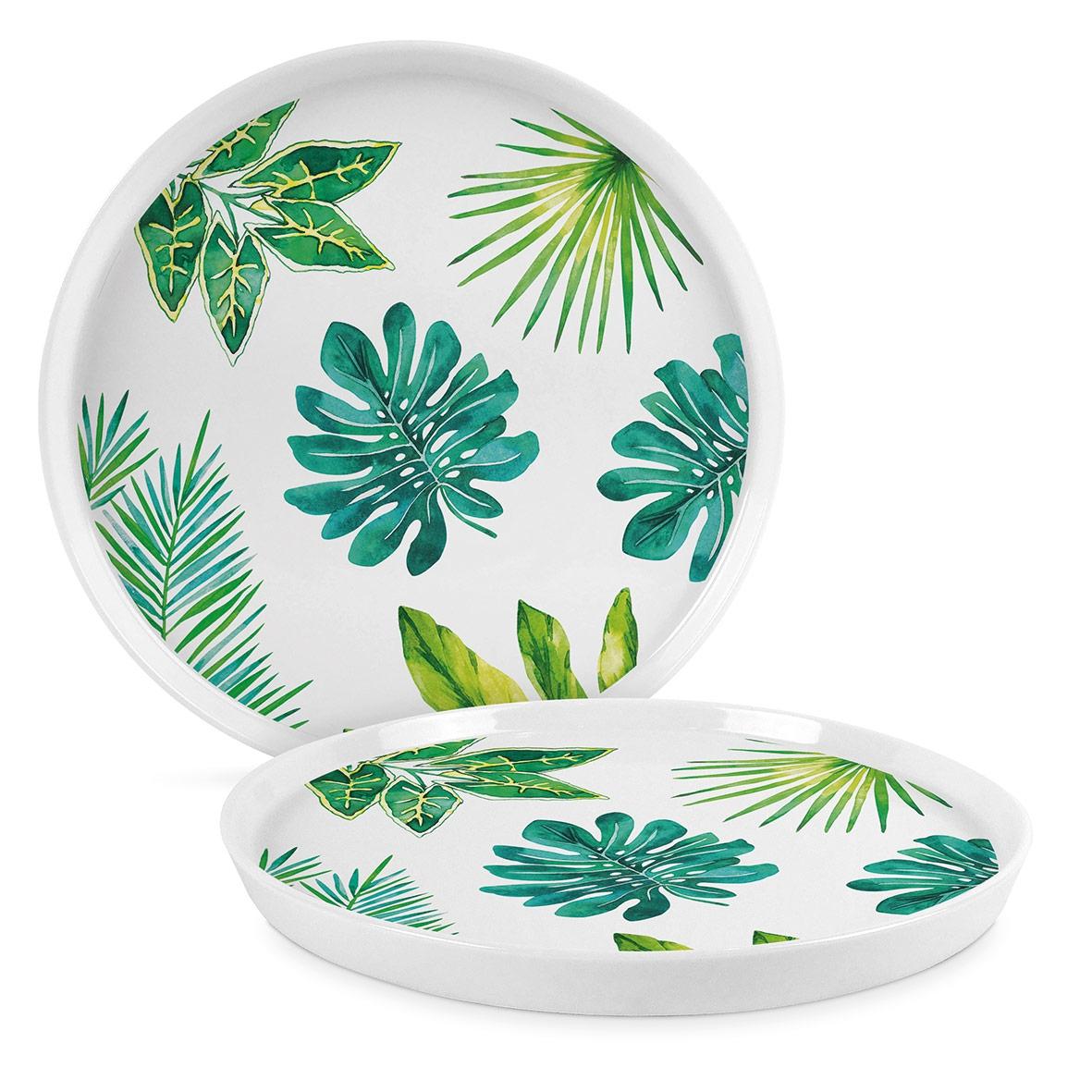Placa de porcelana de 27 cm. - Jungle Trend Plate 27