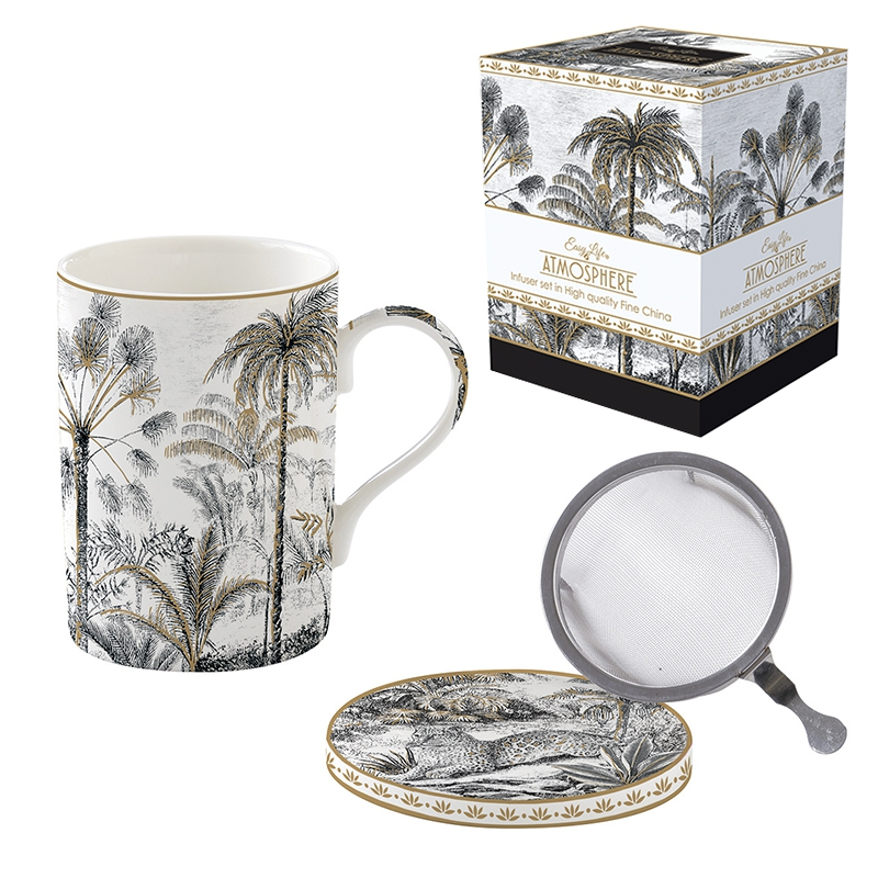 Porcelain Cup - Coffee Mania - RETR