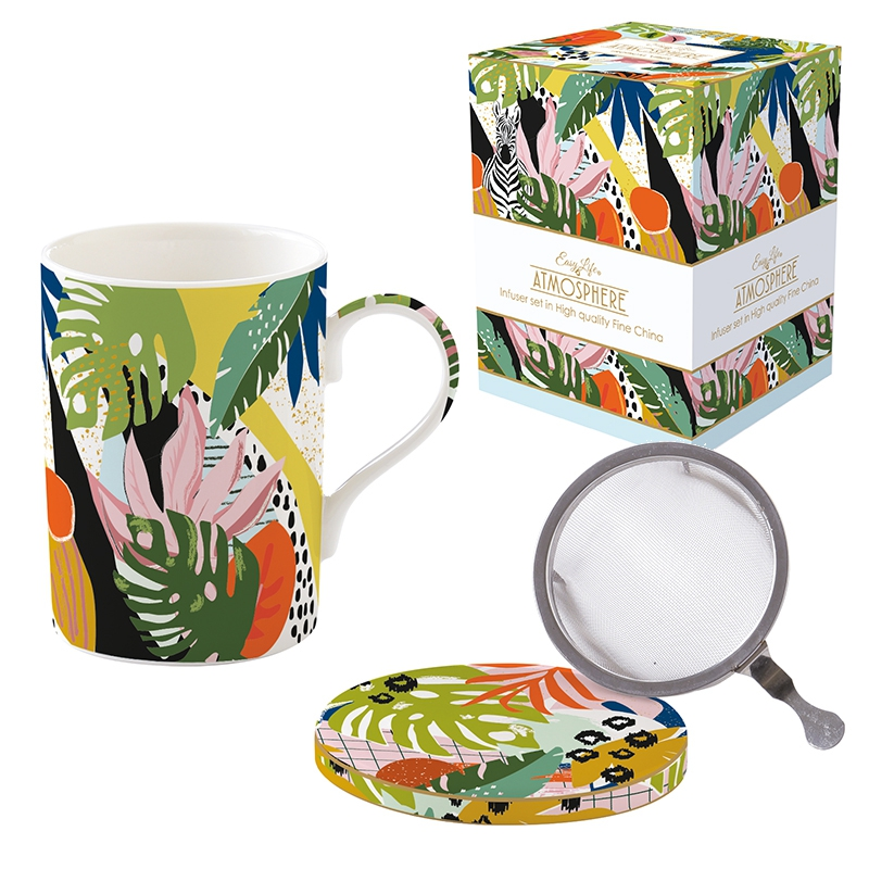 Porcelain Cup - Coffee Mania - VIBE