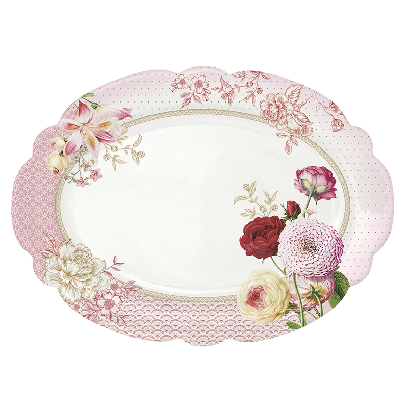 Placa de porcelana - Renaissance