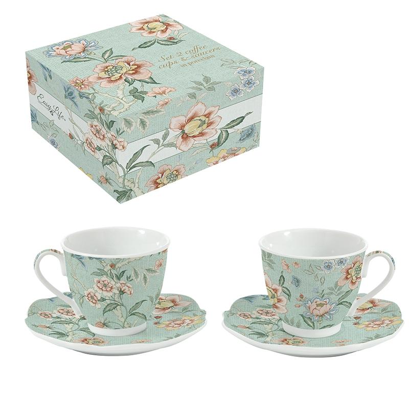 Porcelain Cup - Zen Garden