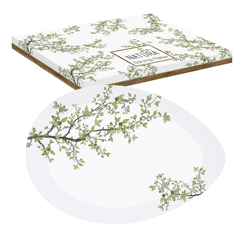 Placa de porcelana - Natura