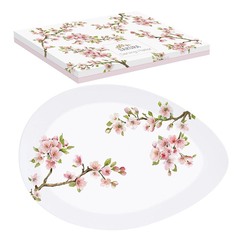 Piatto in porcellana - Sakura