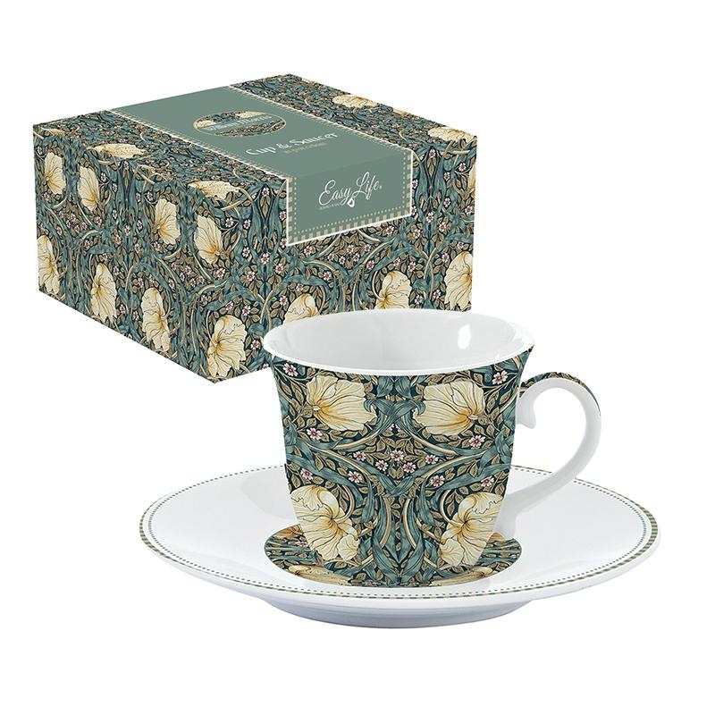 Taza de porcelana - William Morries