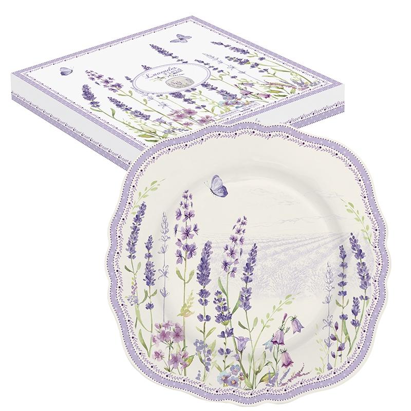 Plato de porcelana de 20 cm. - Lavender Field