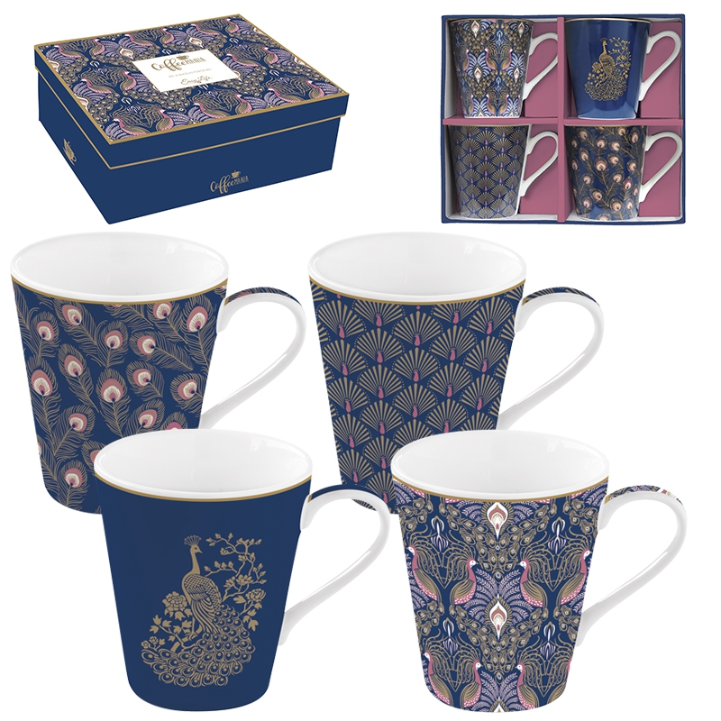 Set of cups 300ml - Coffee Mania - PECK