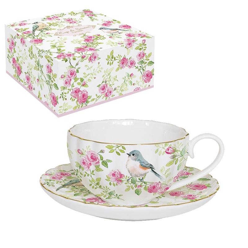 Porcelain Cup - Spring Time