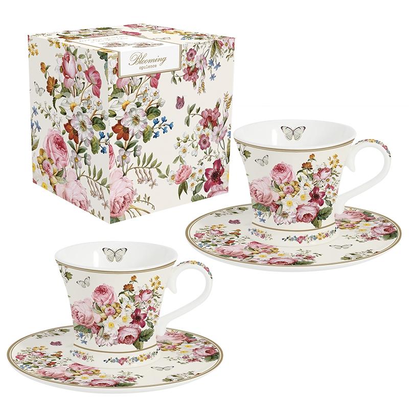 Taza de porcelana - Blooming Opulence