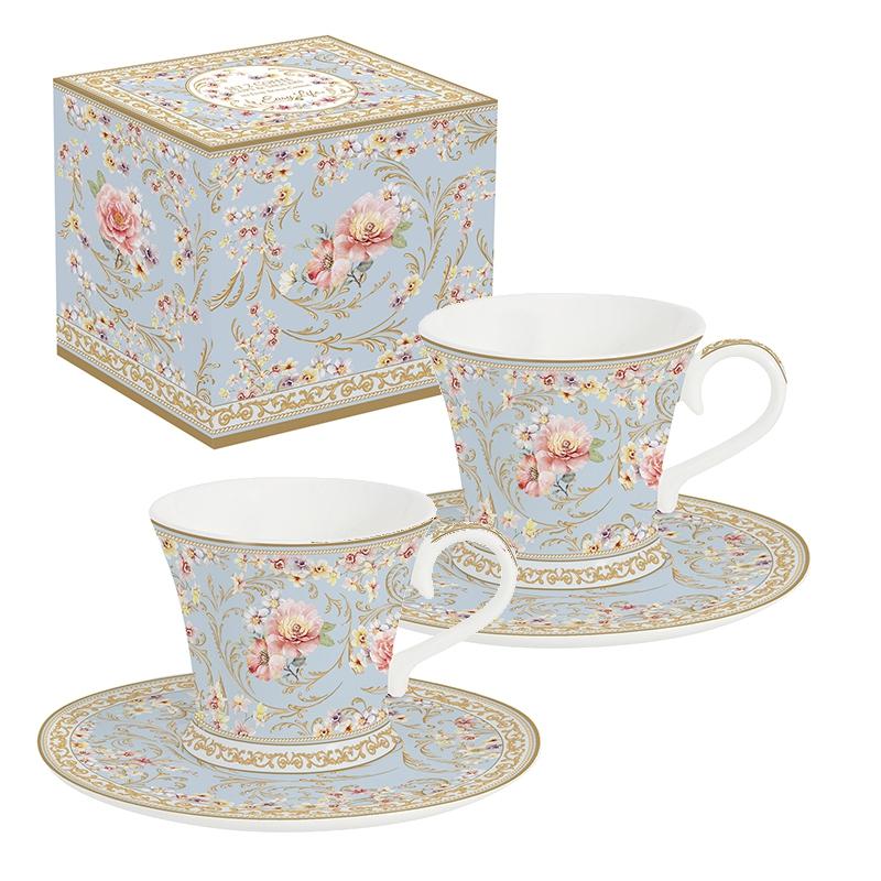 Tasse en porcelaine - Majestic Flowers