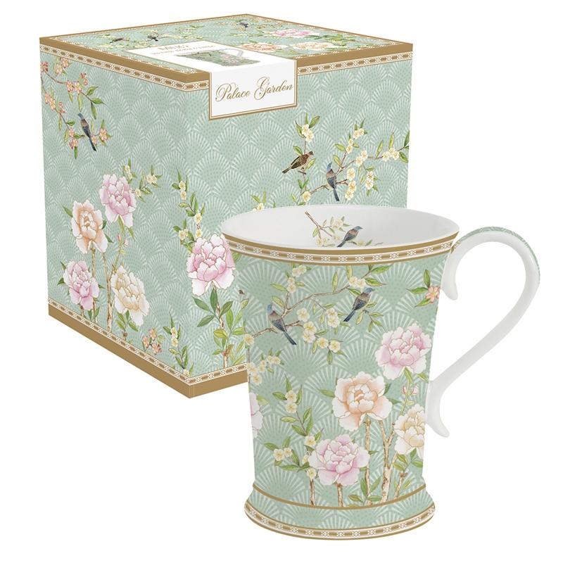 Taza de porcelana - Palace Garden aqua