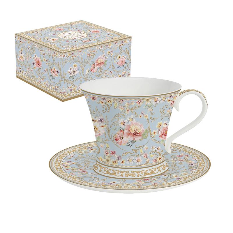 Taza de porcelana - Majestic Flowers