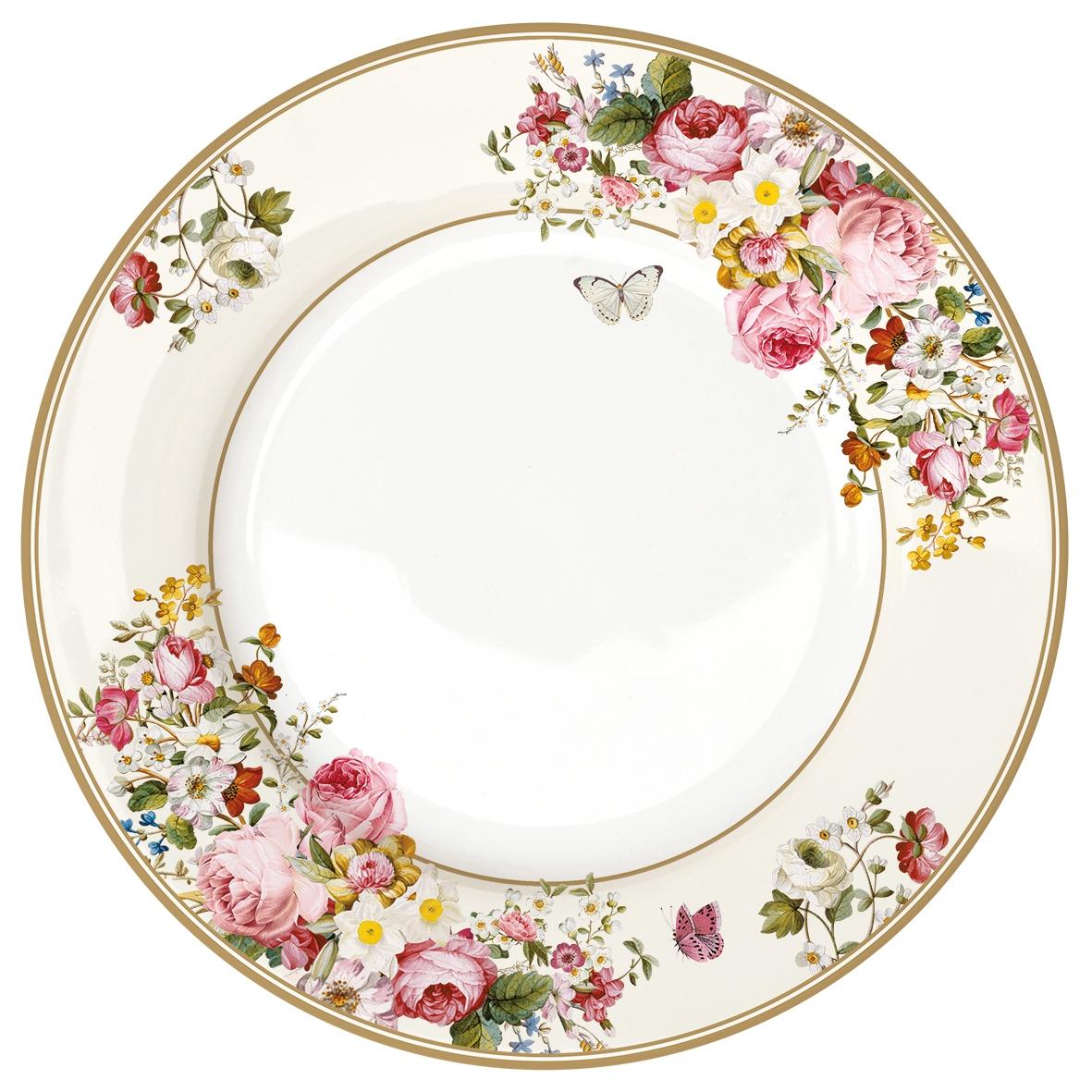 Feeding plate 27cm - Blooming Opulence