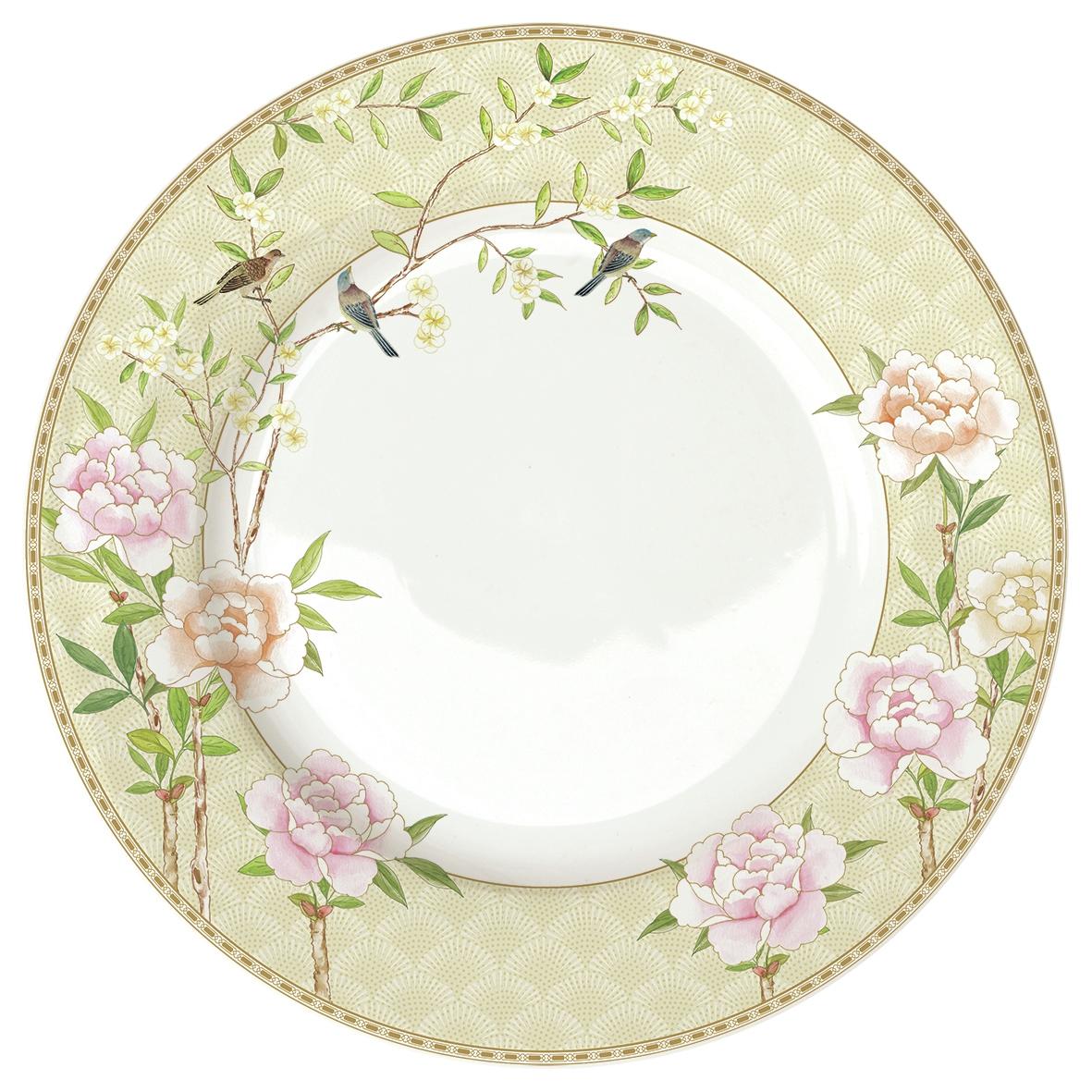 Feeding plate 27cm - Palace Garden Floral