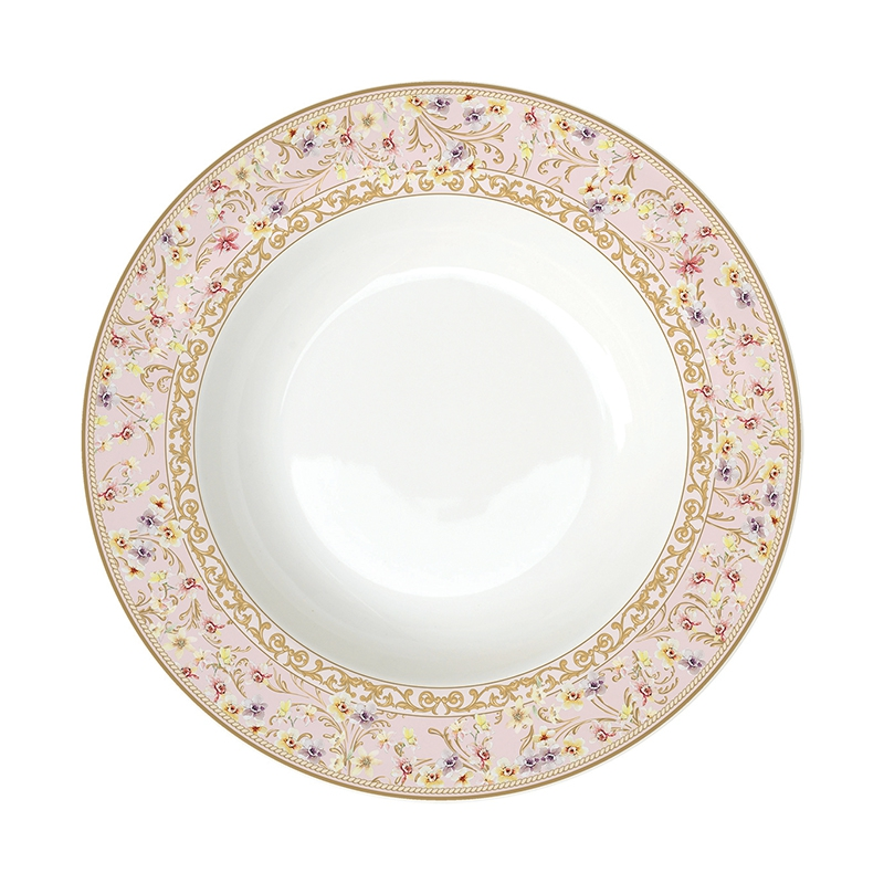 soup plate 22,5cm - Majestic Butterflies