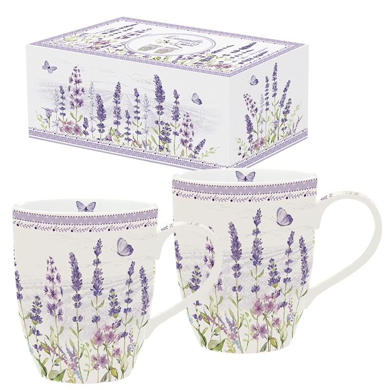 Taza de porcelana - Lavender Field