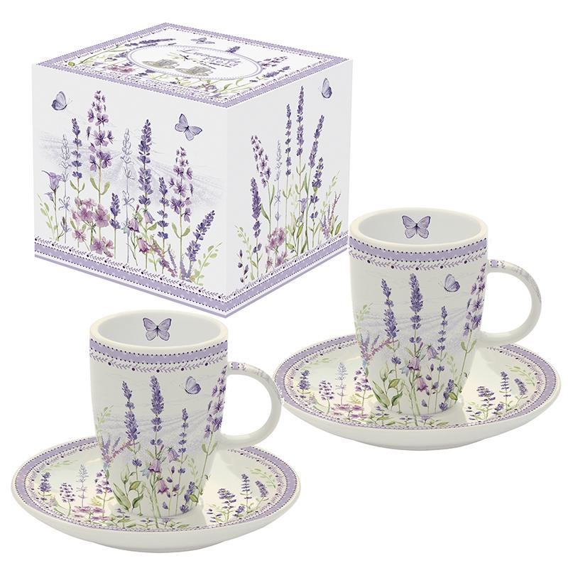 Porcelain Cup - Lavender Field